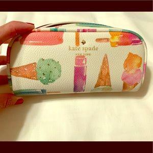 Kate Spade Ice Cream Cosmetic Bag